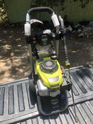 Ryobi 2800 PSI 2.3 GPM Honda Power Control Gas Pressure Washer for Sale in Dallas, TX