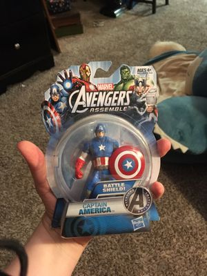 Captain America Action Figure for Sale in Humble, TX