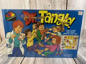 Vintage 1987 Dr. Tangle Board Game Sealed for Sale in Jonestown, PA
