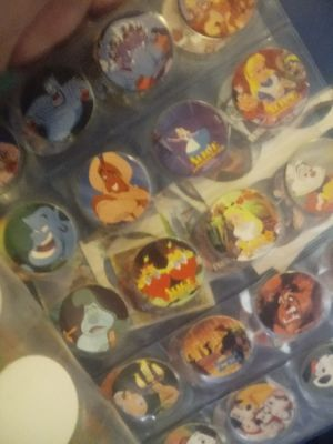 Disney pogs, collectible cards for Sale in Pekin, IL