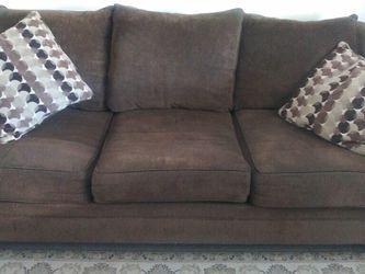Brown Sofa w/ Queen Sleeper Bed for Sale in Phoenix,  AZ