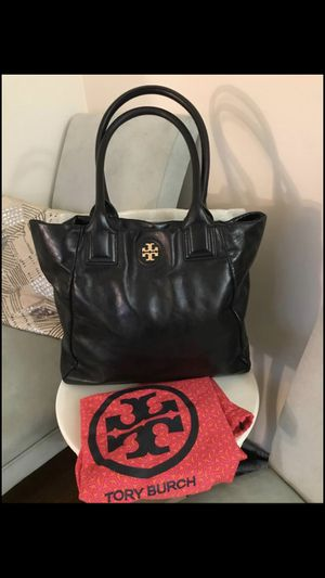 Authentic Tory Burch tote bag for Sale in Fairfax, VA