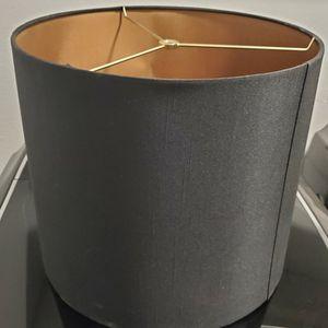 Black Modern Lamp Shade for Sale in Fontana, CA