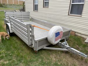 Aluma all aluminum trailer for Sale in Salt Lake City, UT