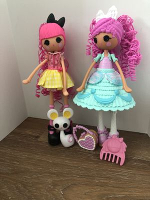 Lalaloopsy Girls Dolls - Fancy Frost 'N' Glaze(Decorated) and Crumbs Sugar Cookie for Sale in El Dorado Hills, CA