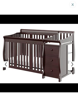 Crib with 3 drawer changing table for Sale in Los Angeles, CA