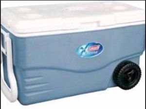 Coleman extreme cooler 100 qt with wheels for Sale in McLean, VA