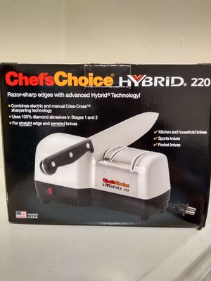 Chef's Choice Hybrid Electric Knife Sharpener for Sale in Greenville, SC