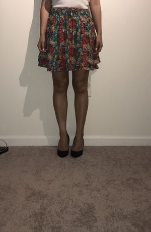 Floral print skirt one size fits all for Sale in Boston, MA