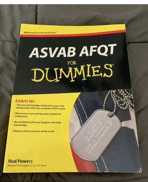 ASVAB for dummies for Sale in Clearwater, FL