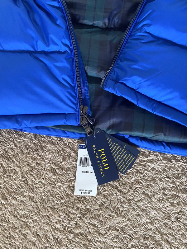 Polo Ralph Lauren puffy vest NWT size medium 110 obo
