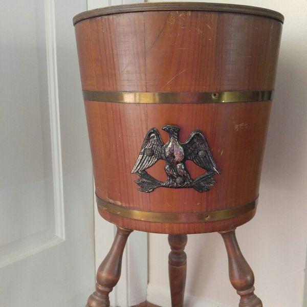 Vintage Sawing Bucket
