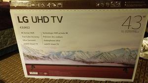 "43"" Lg 4k smart tv for Sale in Glendive, MT"