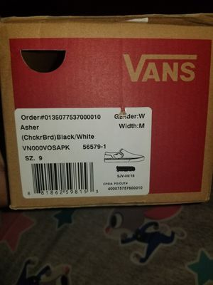 Vans Off The Wall for Sale in Irving, TX