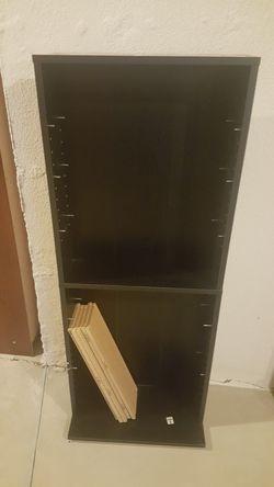 Wood 7 Shelf bookcase $10 for Sale in Northville,  MI
