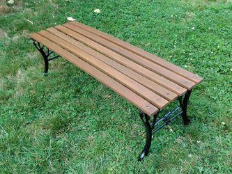 Rod Iron Leg Bench for Sale in Lynnwood,  WA