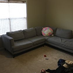 Grey Sectional Couch for Sale in Pasadena,  TX