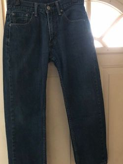 Dark Blue Levi's Jeans Mens Size Waist 30 Length 30 for Sale in Philadelphia,  PA