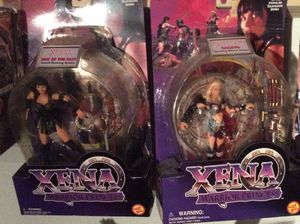 Xena 3 Collectible action figures still in carton New! for Sale in Ruskin, FL