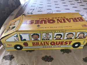 BRAIN-QUEST BOARD GAME BUS GRADES 1 to 6 TRIVIA for Sale in Costa Mesa, CA