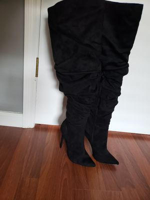 Thigh high never worn boots for Sale in Orlando, FL