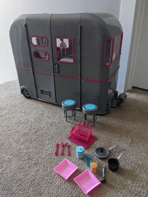 Our Generation doll camper, Jeep for Sale in Ridgefield, WA