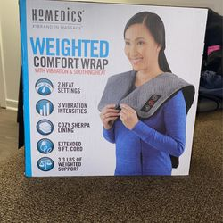 Homedics Weighted Comfort Wrap With Vibration And Soothing Heat for Sale in District Heights, MD