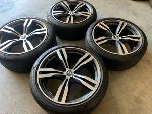20 oem bmw wheels and tires for Sale in Brooklyn, NY