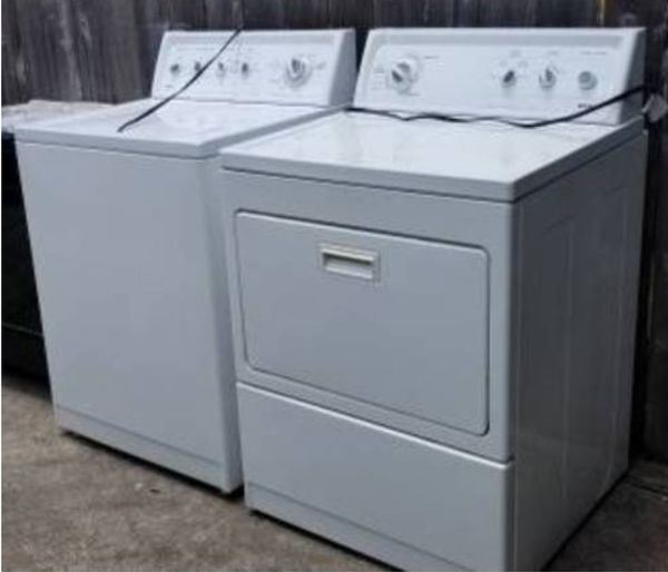 Kenmore Limited Edition matching washer and dryer