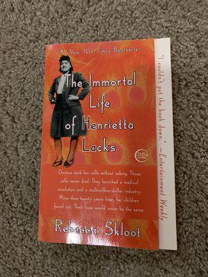 The immortal life of Henrietta Lacks for Sale in Puyallup, WA
