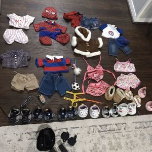 Build A Bear Clothes And Shoes for Sale in Mesquite, TX