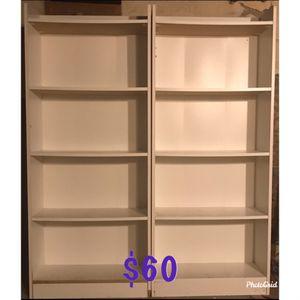 White bookshelves for Sale in Albany, NY