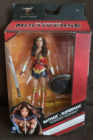 "DC Comics Collectibles Batman vs Superman WONDER WOMAN 6""inch Action Figure BAF for Sale in San Diego, CA"
