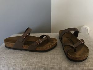 Birkenstock sandals size 40 for Sale in El Segundo, CA