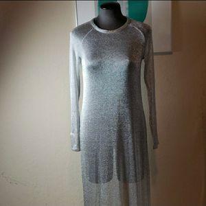 Zara W/B Size Small Long Sleeved Mesh Dress for Sale in Redmond, WA