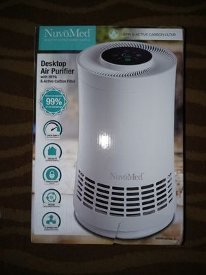 NuvoMed Desktop HEPA Air Purifier for Sale in Houston, TX