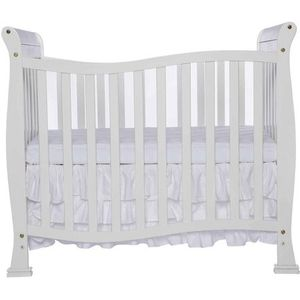 I am selling baby crib white color is in good condition together with new matress in plastic 130 for Sale in Camden, NJ