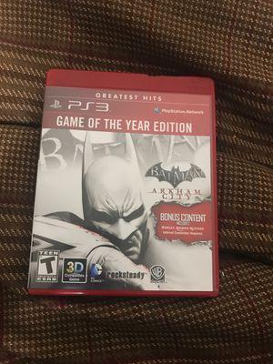 Batman Arkham City (PS3) for Sale in Chico, CA