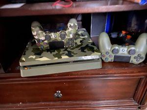 WW11 Limited edition ps4 slim 1 TB for Sale in Lincoln, RI