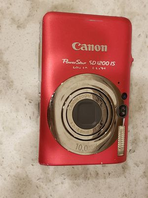 Canon PowerShot SD 1200 IS digital camera for Sale in Monument, CO