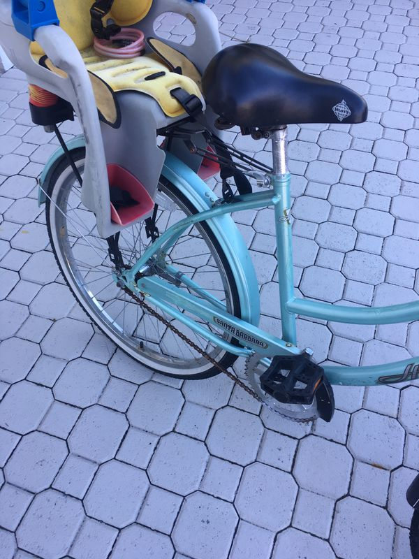 Cruiser Bicycle With Topeak Baby Seat For Sale In Pembroke