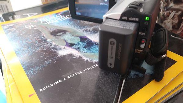 SONY Handycam Video Recorder DCR-SR47 60X Optical Zoom, 60 GB HD Internal Storage, up to 45 hours of storage internally