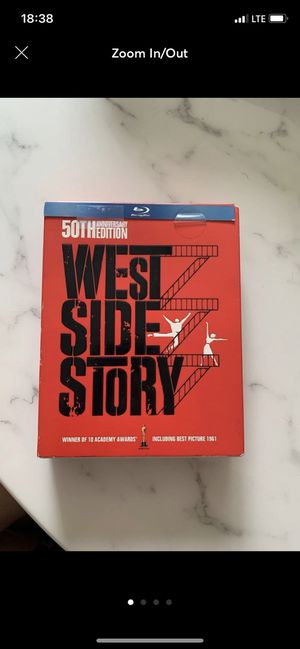 West Side Story Blueray DVD for Sale in Miami, FL
