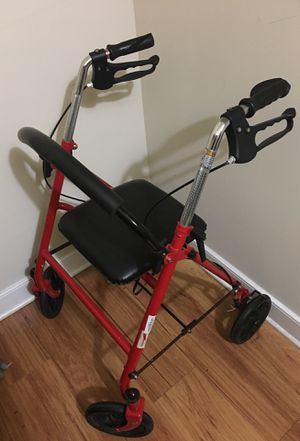 Electric walker, shower chair, 2 canes for Sale in Annandale, VA
