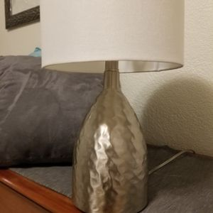 Table lamp white shade for Sale in San Diego, CA