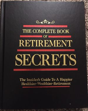 The Complete Book of Retirement Secrets - ISBN 0-88723-128-4 for Sale in Saginaw, MI