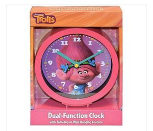 Trolls Dual Function Tabletop Or Wall Hanging Clock for Sale in Los Angeles, CA