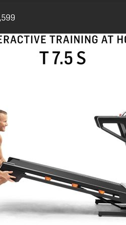 Like New NordicTrack T7.5 S Treadmill for Sale in Irvine,  CA