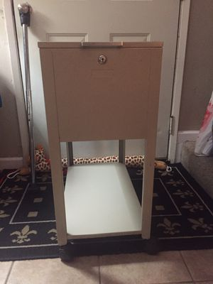 Rolling filing cabinet for Sale in Carmichael, CA