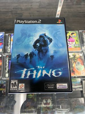 The Thing ps2 $25 Gamehogs 11am-7pm for Sale in East Los Angeles, CA